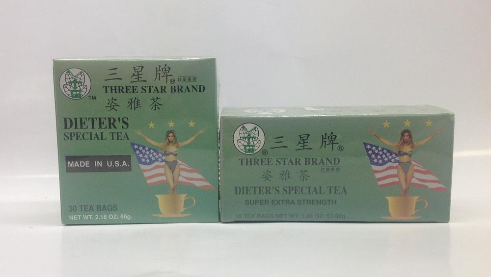Dieter's Special Tea   Three Stars
