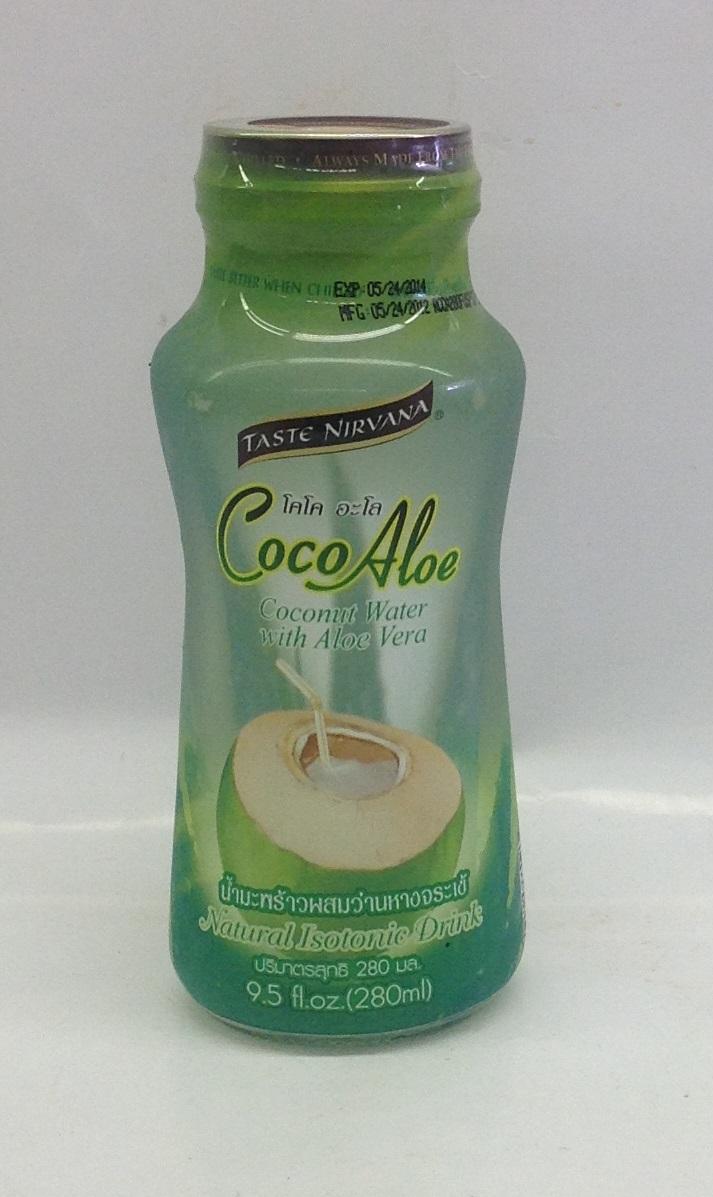 Coco Aloe Drink   Taste Nirvana   DK11100 24x9.5 oz