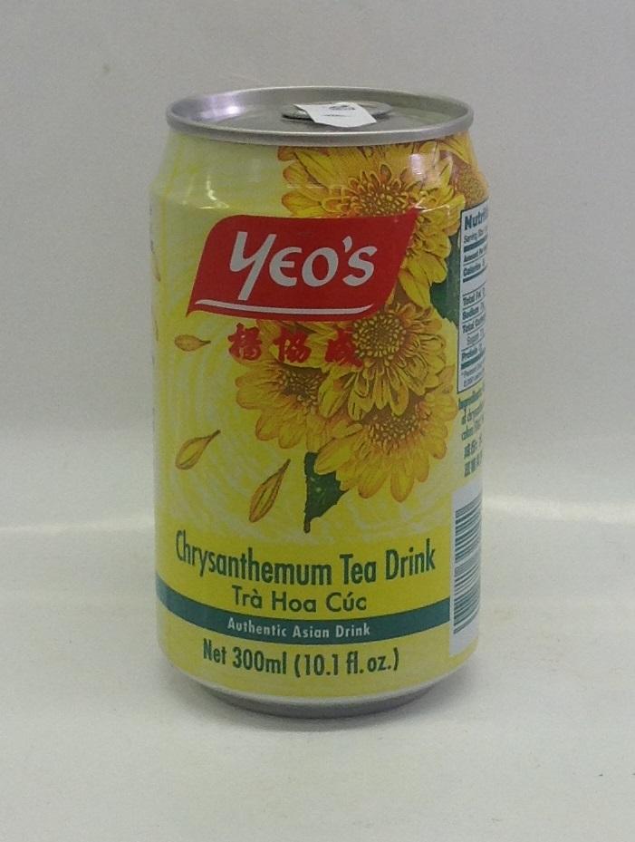 Chrysanthemum Tea Drink   Yeo's   DK11282 24x12 oz