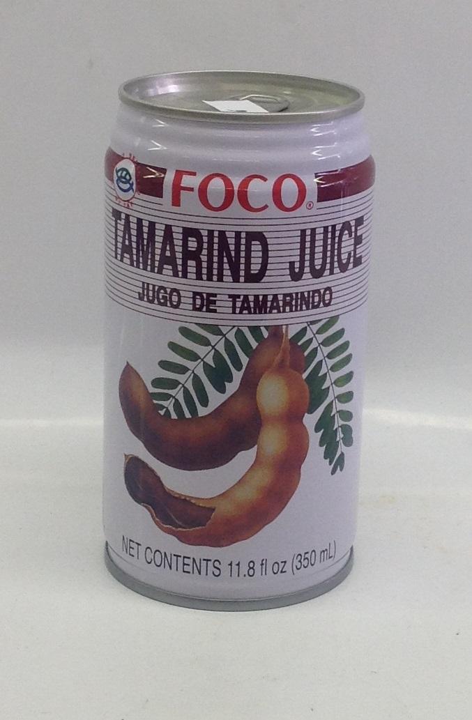 Tamarind Juice   Foco   DK17611 24x11.8 oz  DK17612 24x18.4 oz (Tall)