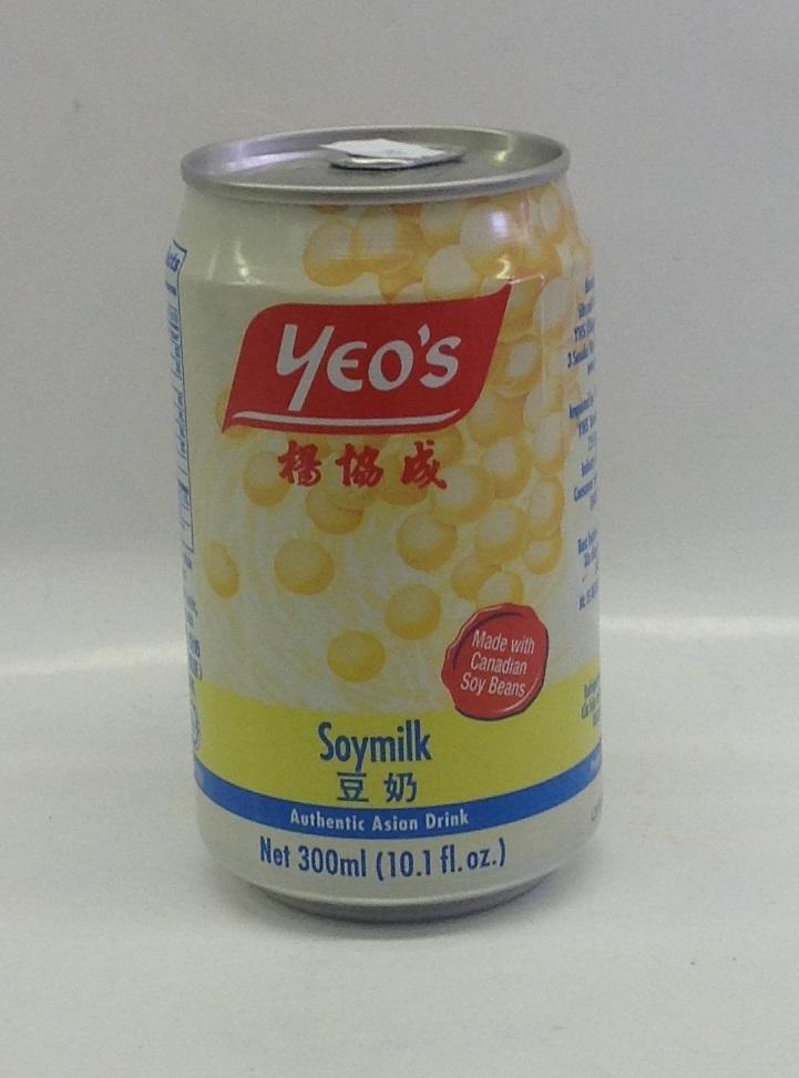 Soy Bean Drink   Yeo's   DK17007 24x11 oz