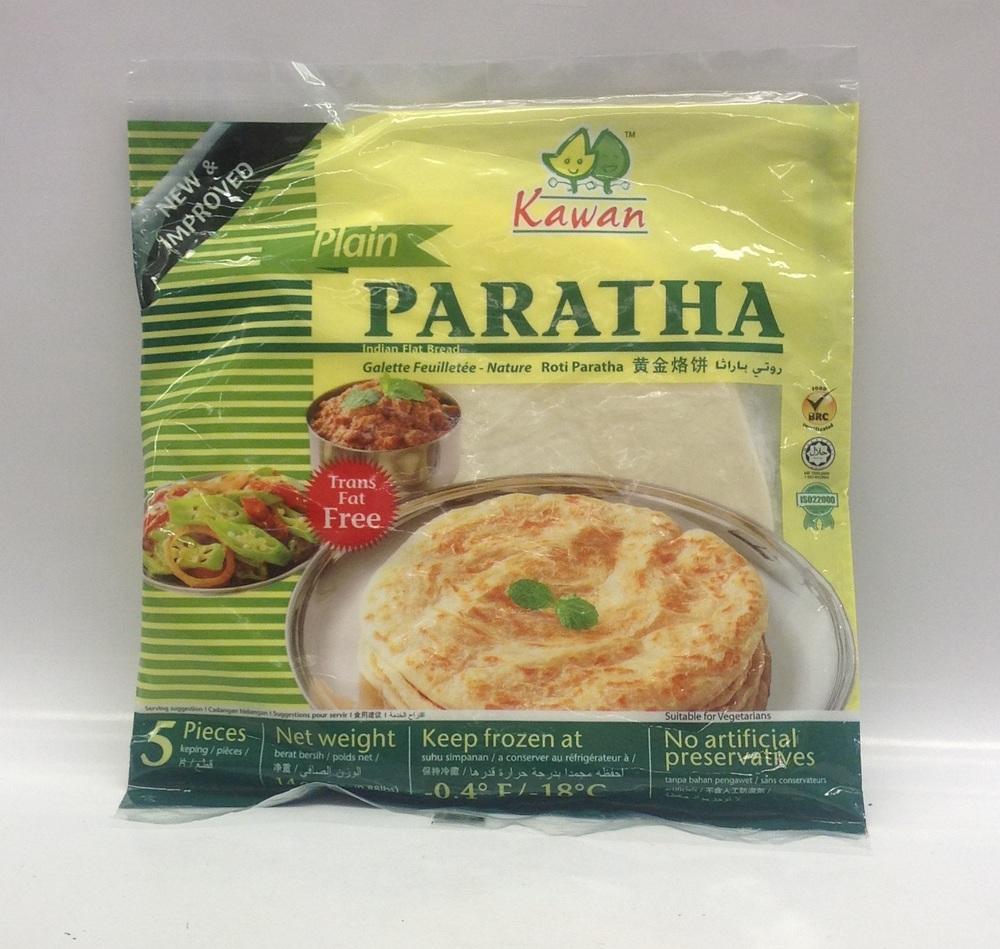 Frozen Roti Paratha (Plain)   Kawan   FZ17155 24x14 oz