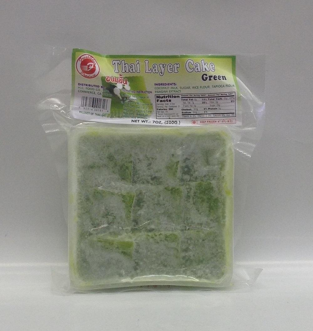Frozen Layer Cake (Green)   Thai   FZD4316 60x7 oz