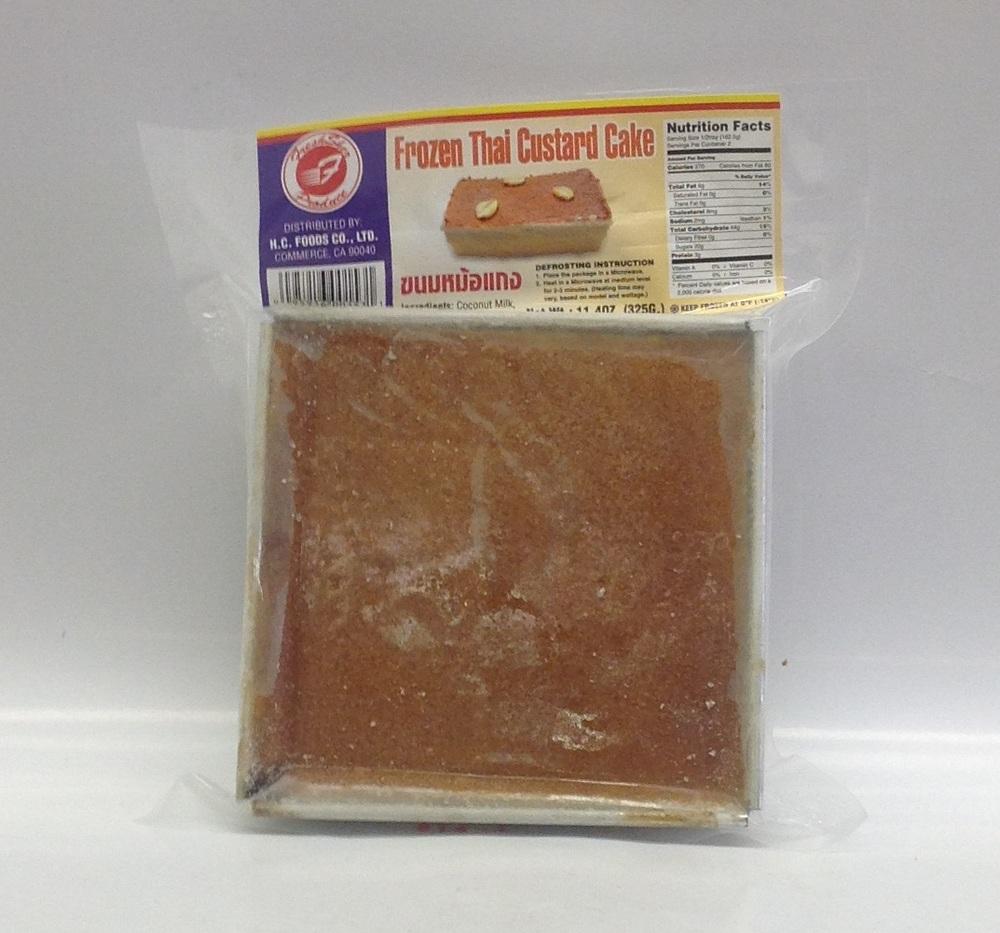 Frozen Thai Custard Cake   Thai   FZD7218 36x11.4 oz