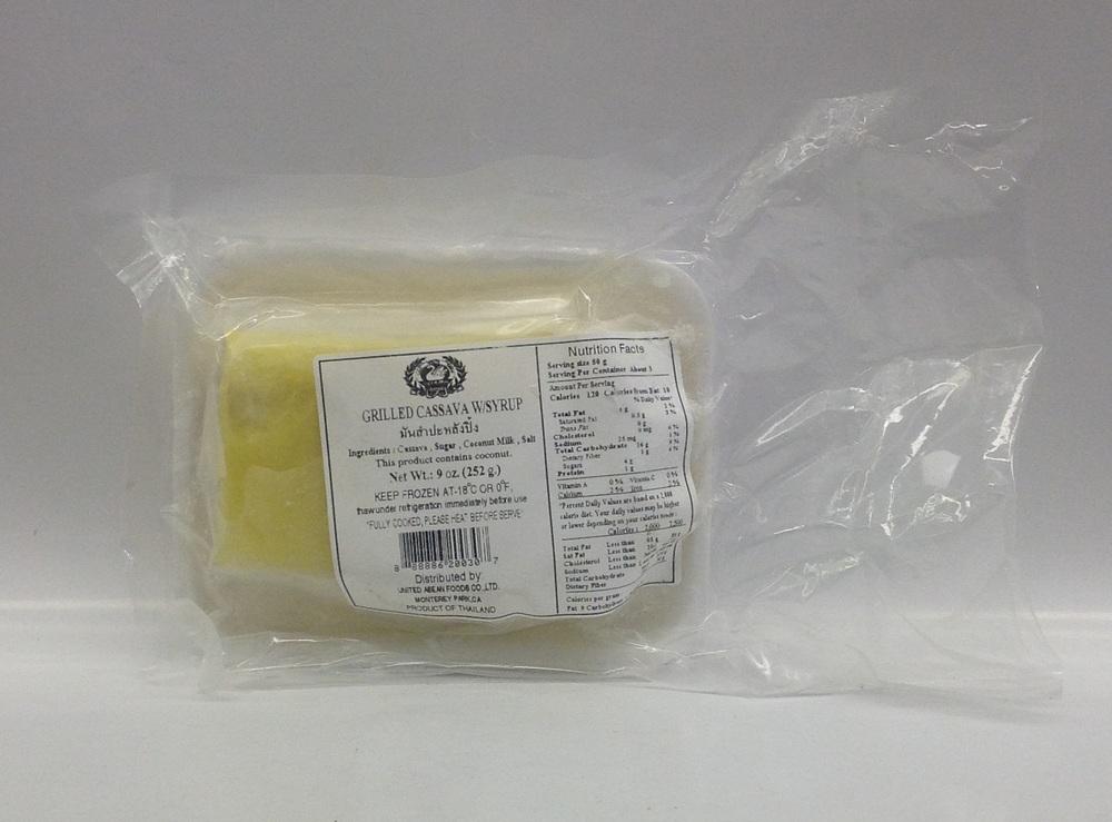Frozen Casava in Syrup   Thai   FZD3118 48x9 oz