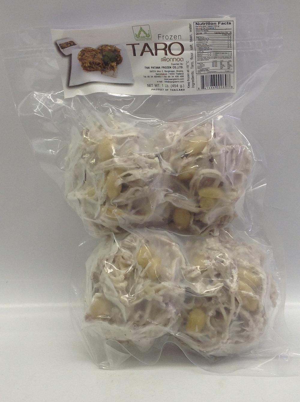 Frozen Taro w/ Peanut, Fried   Wangderm   FZD6228 20x16 oz