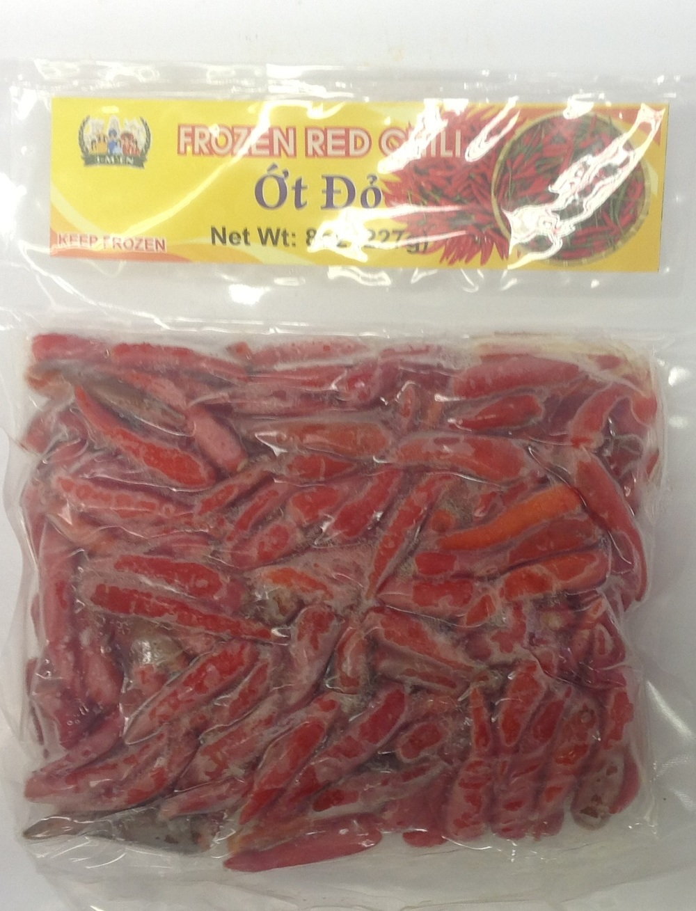 Frozen Red Chili   V.N.   FZV1316 50x8 oz