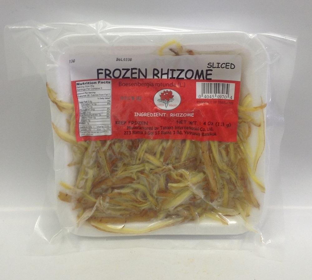 Frozen Kachai (Rhizome), Sliced   Lotus   FZV4200 60x4 oz