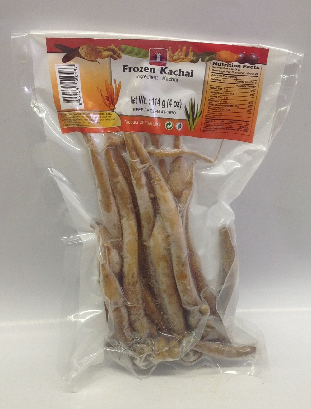 Frozen Krachai, Whole   Deer   FZV4203 100x4 oz