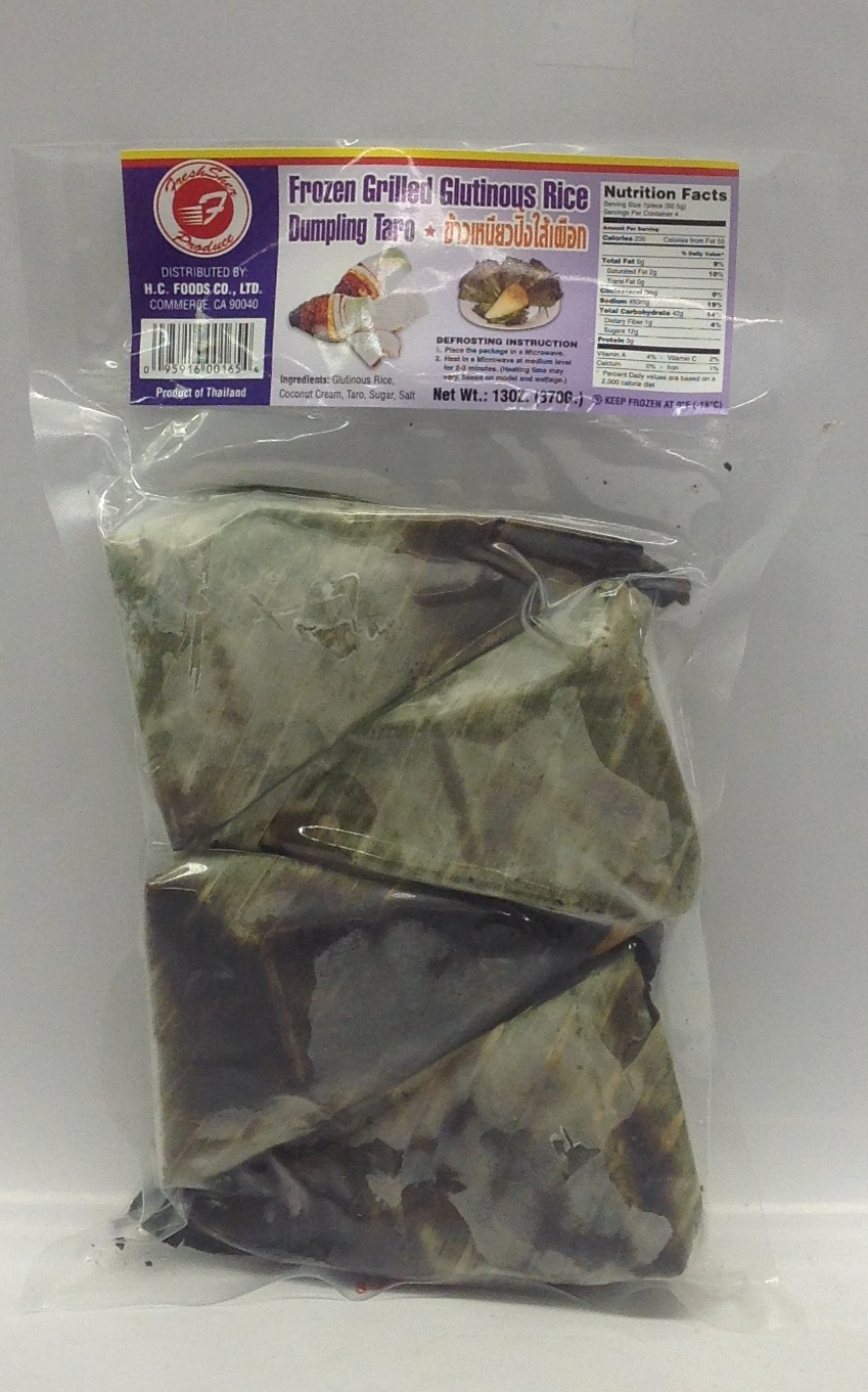 Frozen Grilled Glutinous Rice Dumpling, Taro   Fresher   FZD3125 36x13 oz