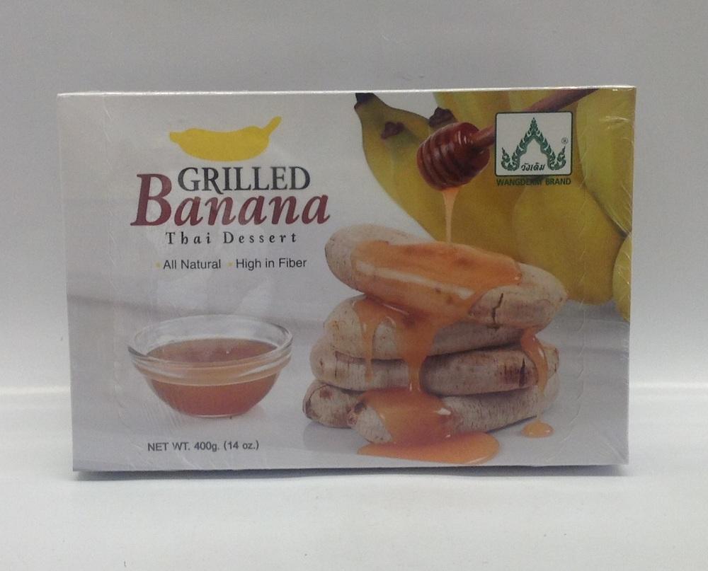 Frozen Grilled Banana w/ Syrup   Wangderm   FZD3120 24x14 oz