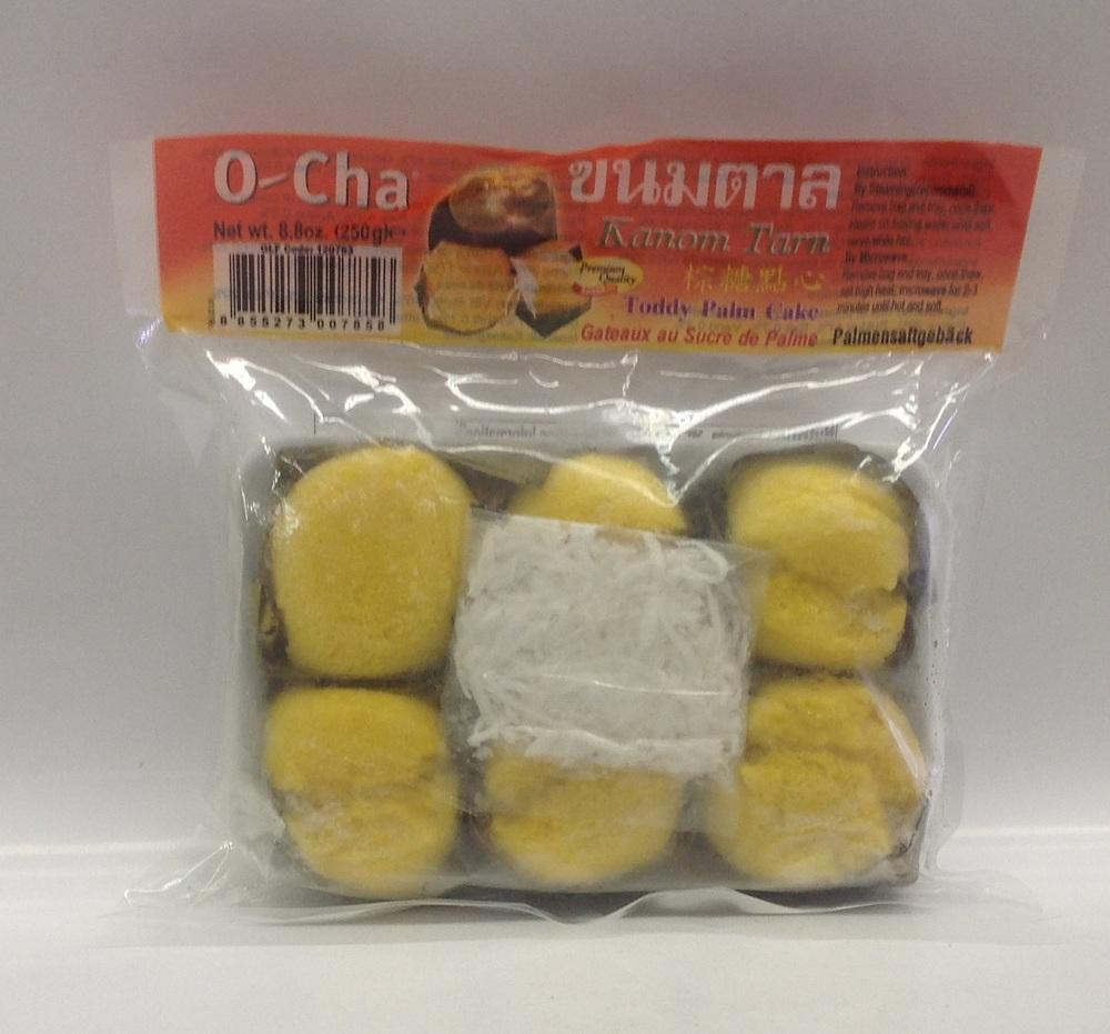 Frozen Toddy Palm Cake (Kanom Tarn)   O-Cha   FZD6210 24x8.8 oz
