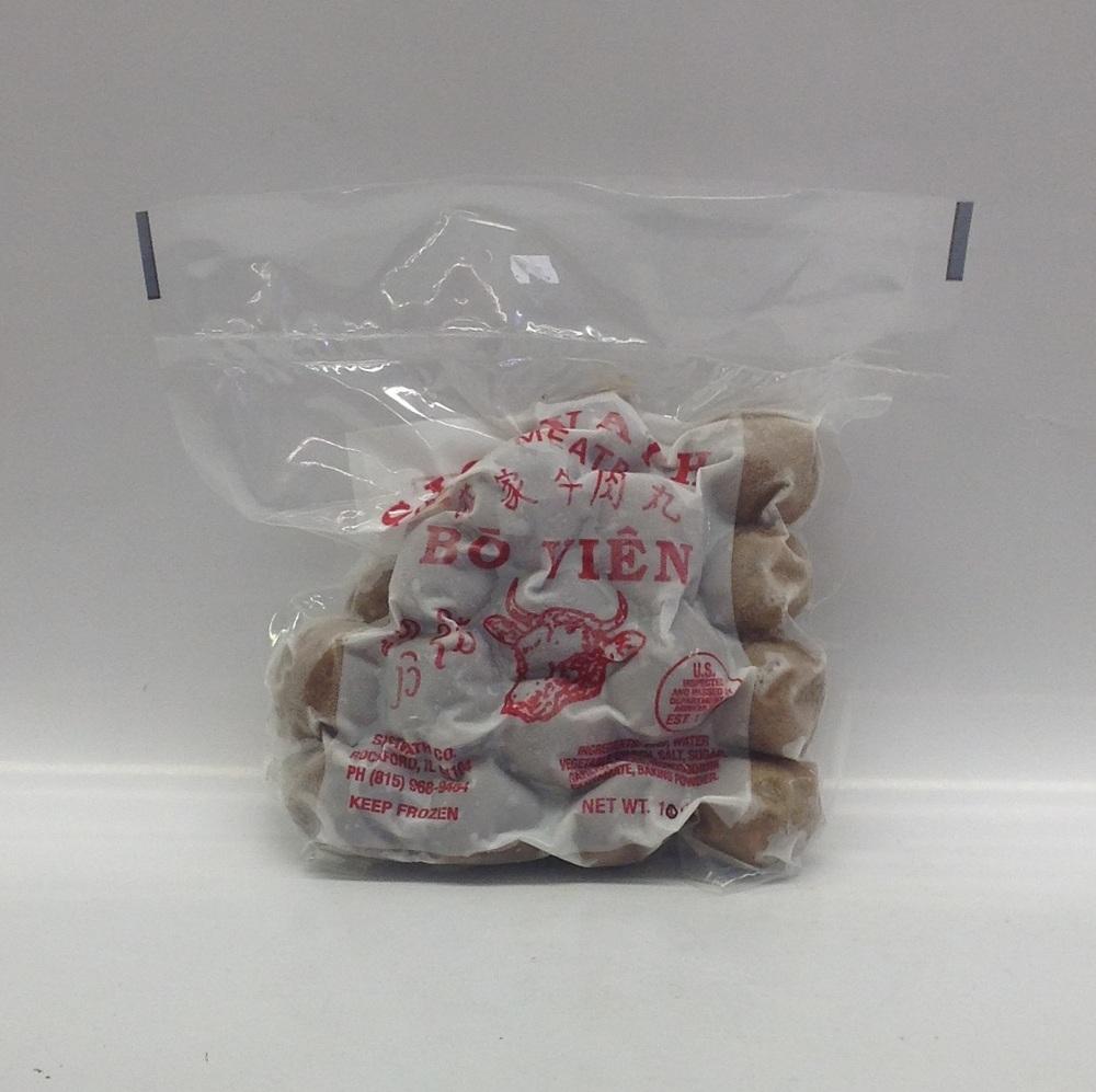 Frozen Beef Ball   Sisavath   FZM1226 30 bags x 10 oz