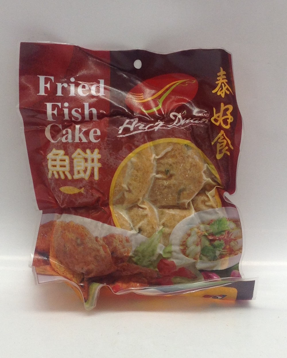 Frozen Fried Fish Cake (Aroi Duan)   Taejiew   FZM2314 30x7 oz