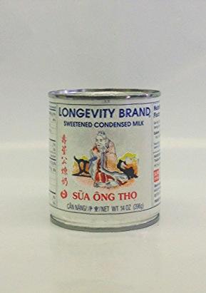 Sweetened Condensed   Milk    Longevity   ML10201 24x14 oz