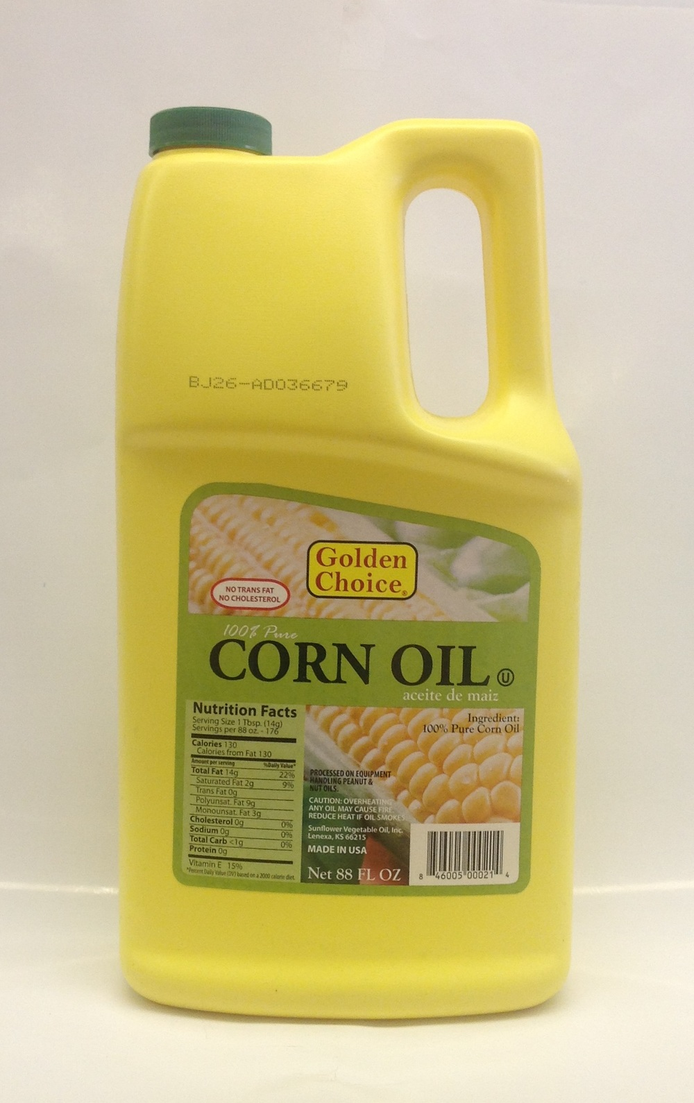 Corn Oil   Golden Choice   OIL0999 8x88 oz