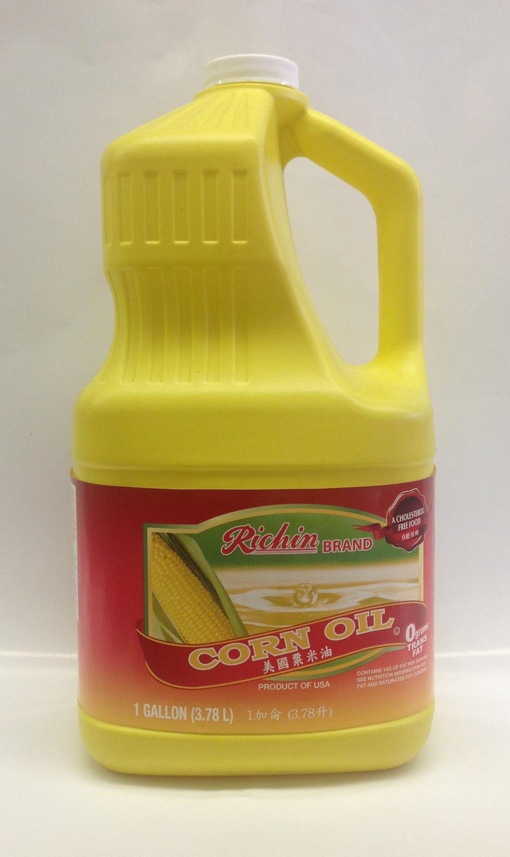 Corn Oil   Richin   OIL0995 4x1 gal