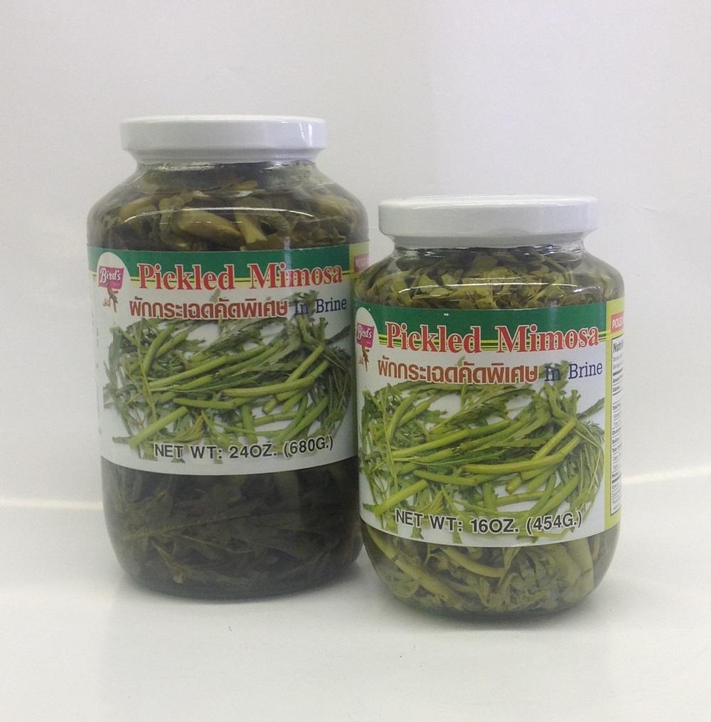 Pickled Mimosa   Bird's   PK15200 24x16 oz  PK15205 12x24 oz