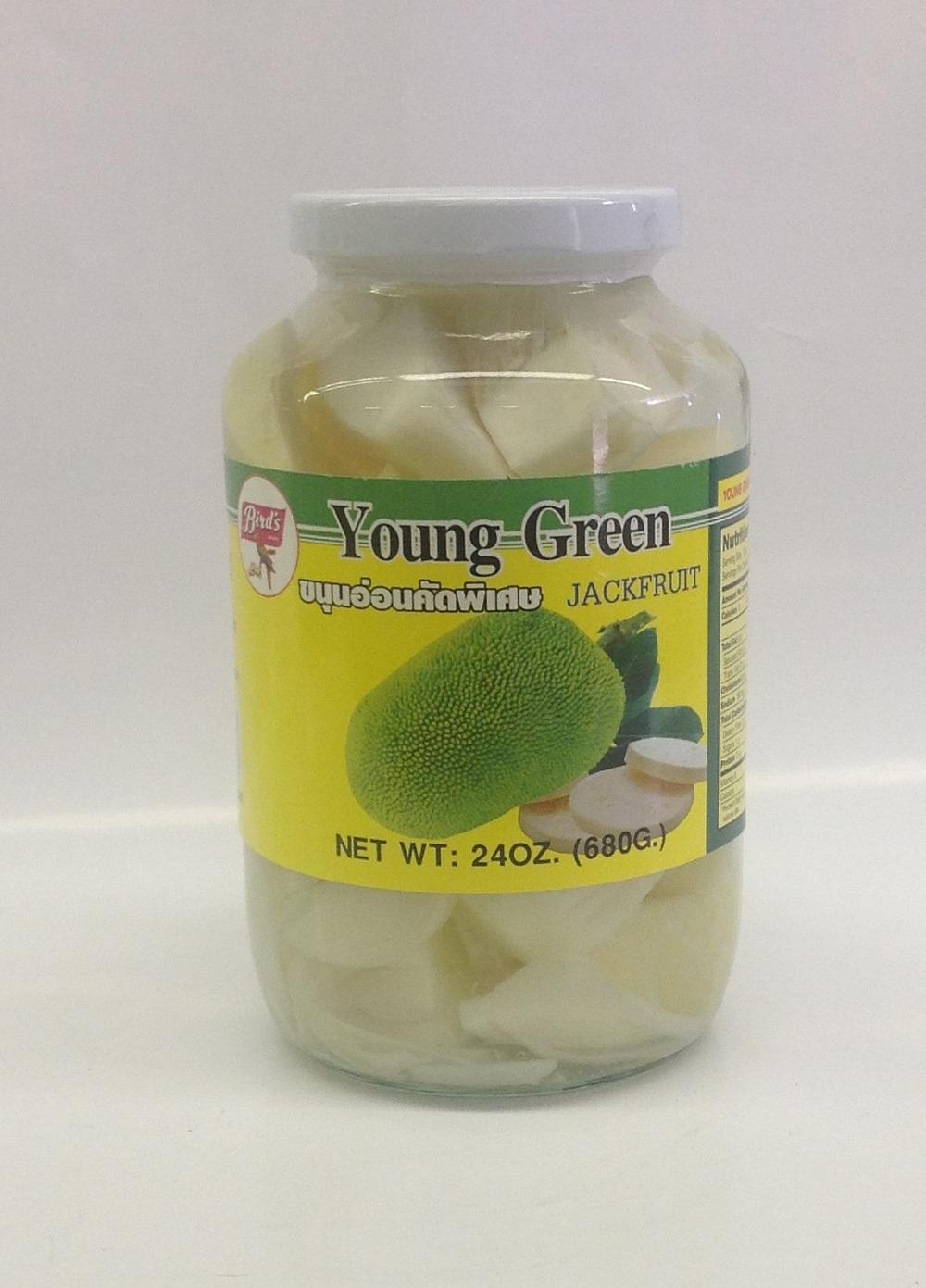 Young Green Jack Fruit   Bird's   PK17150 12x24 oz