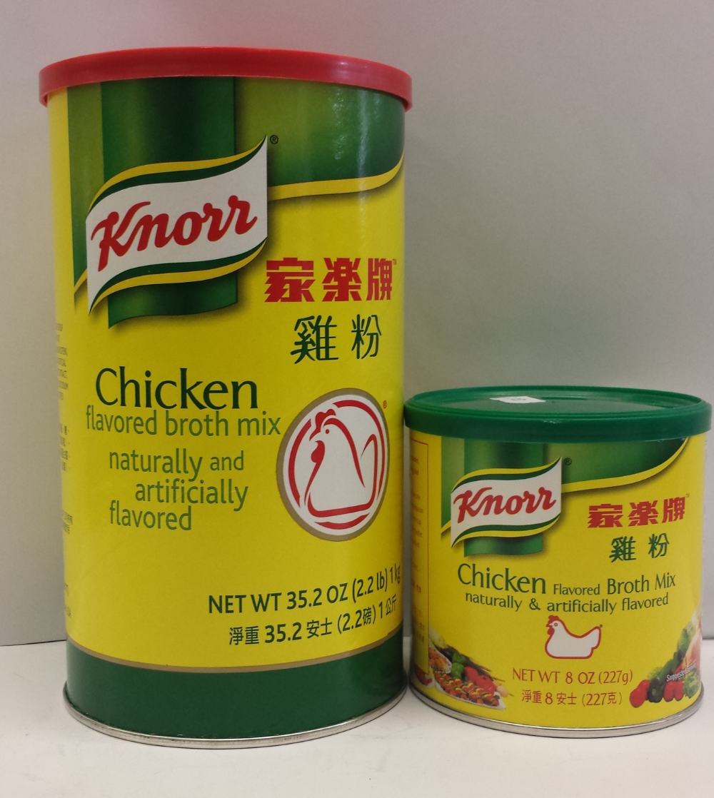 Chicken Broth Mix   Knorr   SEC1293 24x8 oz  SEC1303 16x35.2 oz