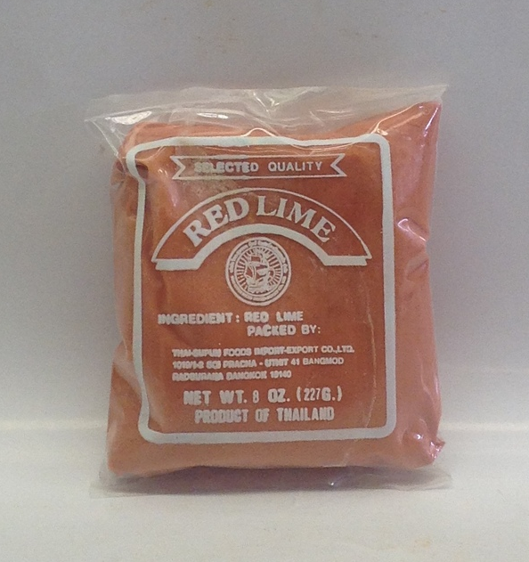 Red Lime Paste   Sumpao Boat   DRZ1631 50x8 oz