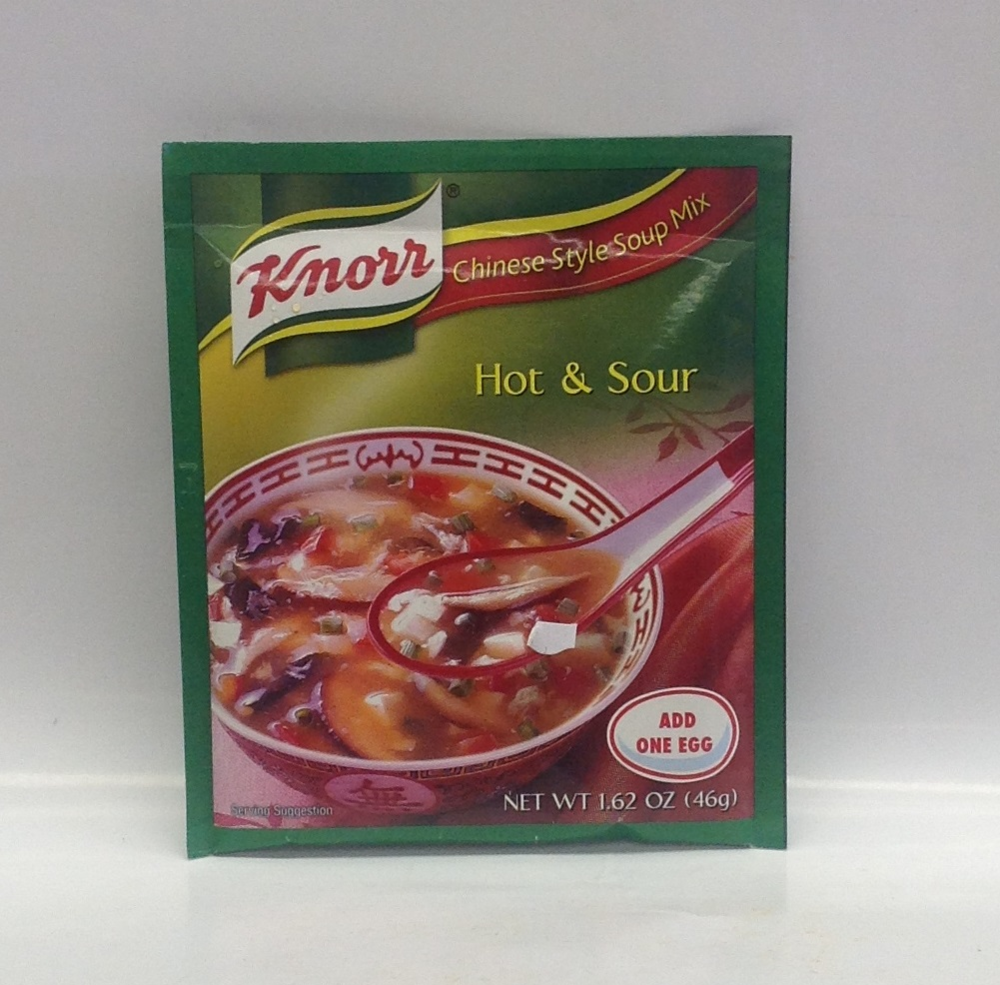 Hot & Sour Soup Mix   Knorr   SE17000 60x1.75 oz