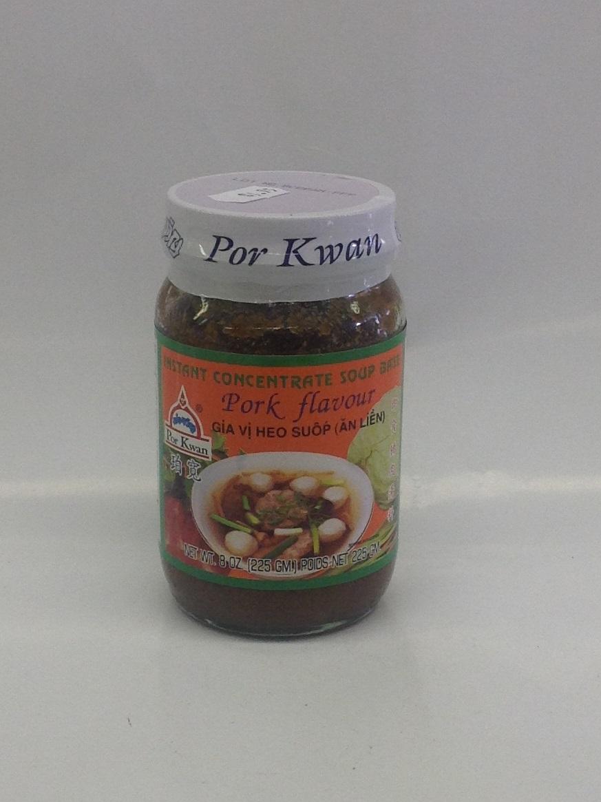 Instant Beef Flavor Paste   Por Kwan   SEI1329 24x8 oz
