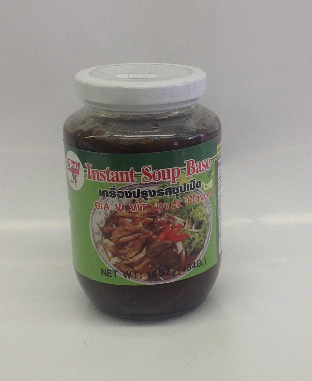 Instant Soup Paste, Duck   Bird's   SEI1333 24x16 oz