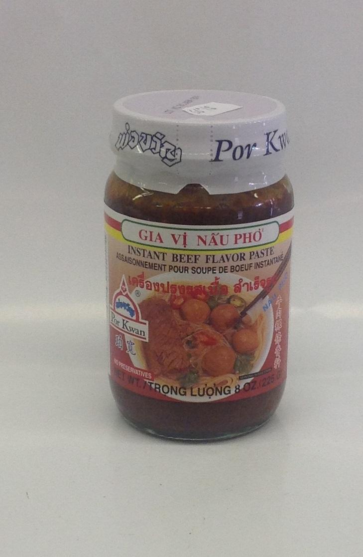 Instant Tom Yum Paste   Por Kwan   SEI1723B 24 jar x 8 oz