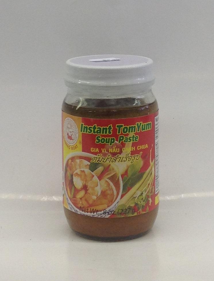 Instant Tom Yum Soup Paste   Sumpao Boat   SEI1724 24x8 oz
