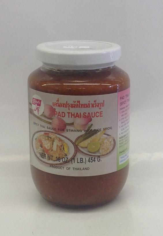Pad Thai Sauce   Bird's   SEI1340 24x16 oz