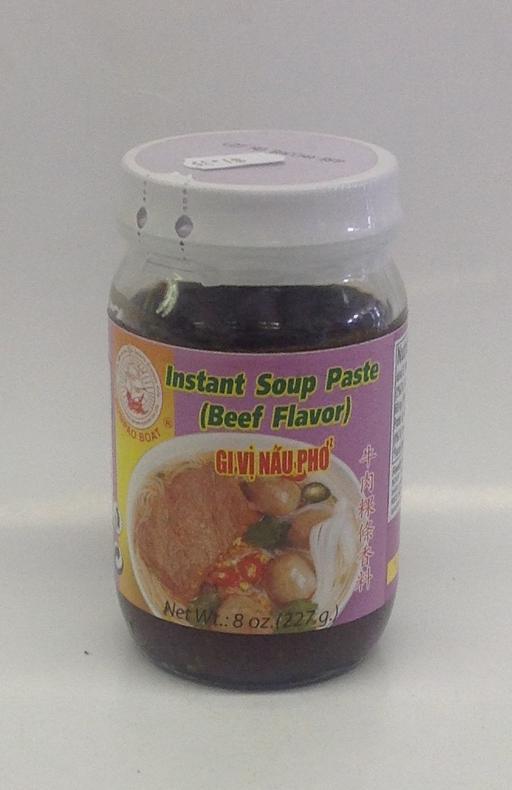 Instant Soup Paste, Beef   Sumpao Boat   SEI1331 24x8 oz