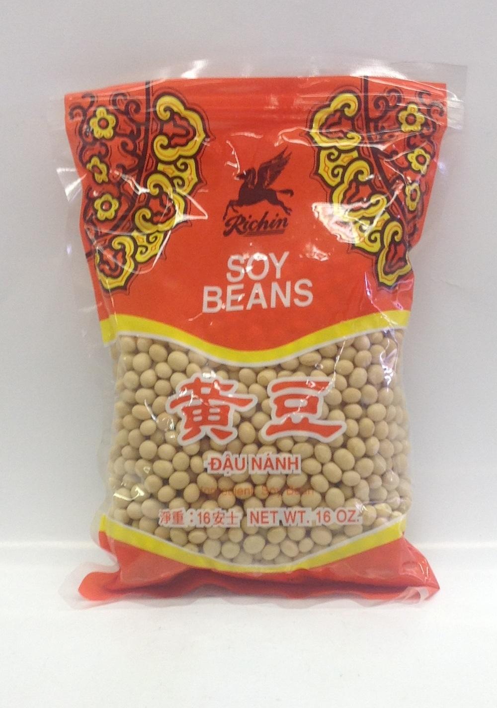 Dried Soy Bean   Richin   DRVB0030 50x16 oz