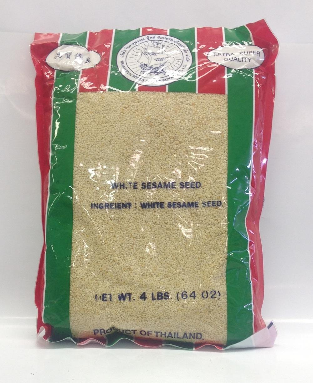 White Sesame Seed   Sumpao Boat   SD18202 10x4 lbs (Thai)  SD18203 10x4 lbs (Bag)