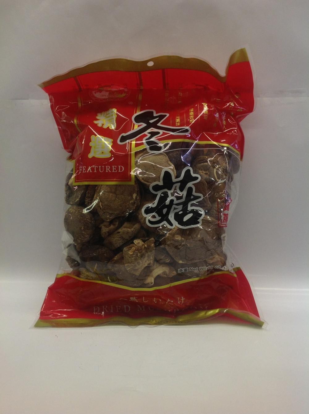 Dried Mushroom, 4-5 cm   City Aroma   DRV5104 30x16 oz