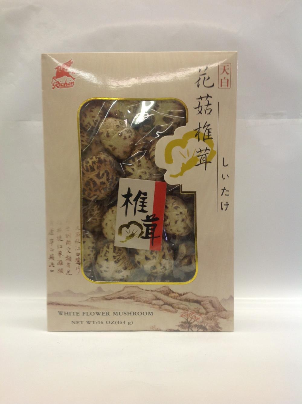 White Flower Mushroom   Richin   DRV5110 20x16 oz