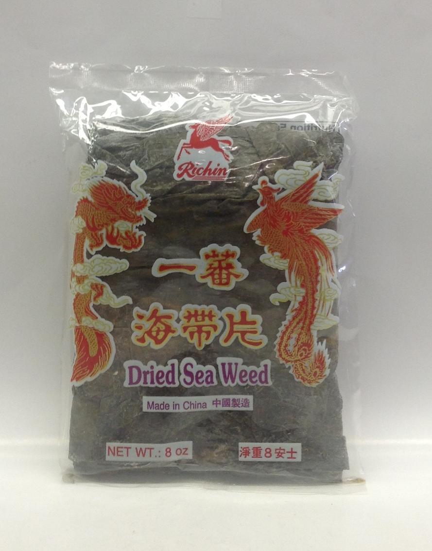 Dried Sea Weed   Richin   DRV7202 2x25x8 oz