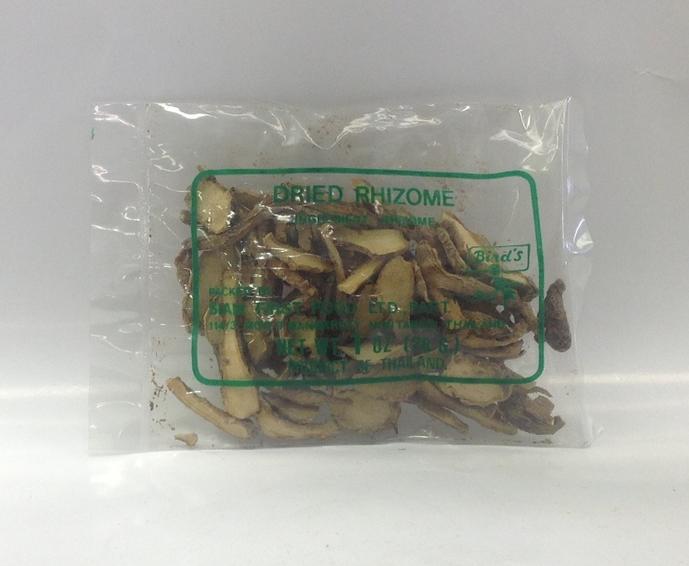 Dried Rhizome (Kra-Chai)   Bird's   DRV6210 100 x 1 oz