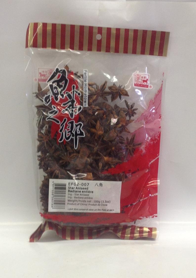 Dried Star Aniseed   China   DRV7211 100x3.5 oz