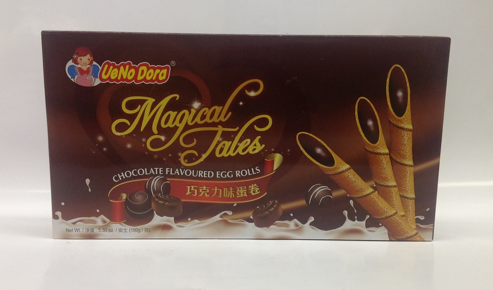 Magical Tales Egg Roll, Chocolate   UeNoDora   CK12200 24x150 g