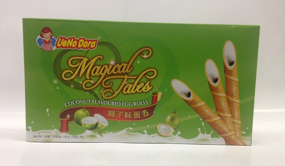 Magical Tales Egg Roll, Coconut   UeNoDora   CK12201 24x150 g