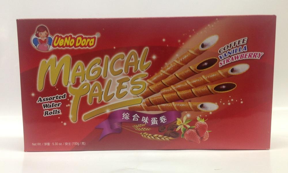 Magical Tales Egg Roll, Assorted   UeNoDora   CK12202 24x150 g