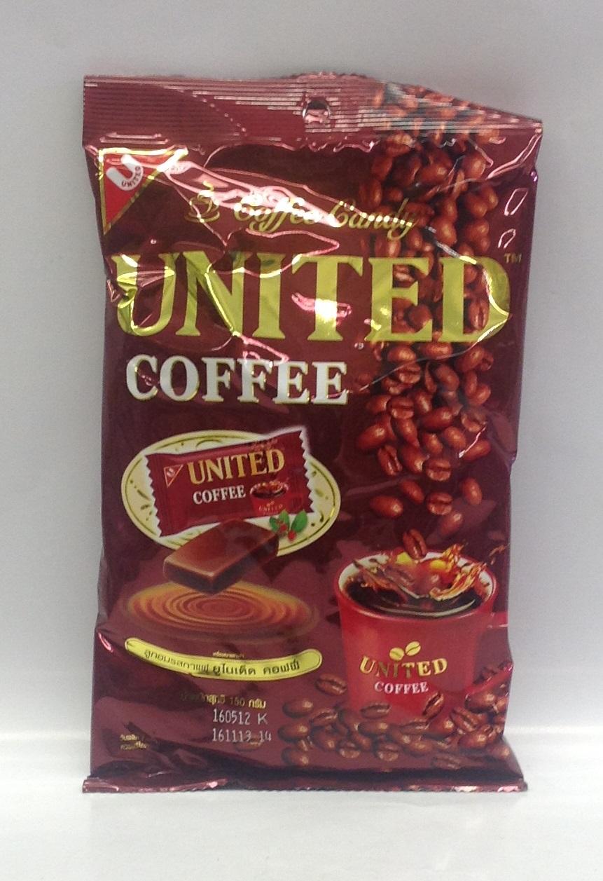 Coffee Candy   United   CN11308 36x5.29 oz  CN11309 24x180 g