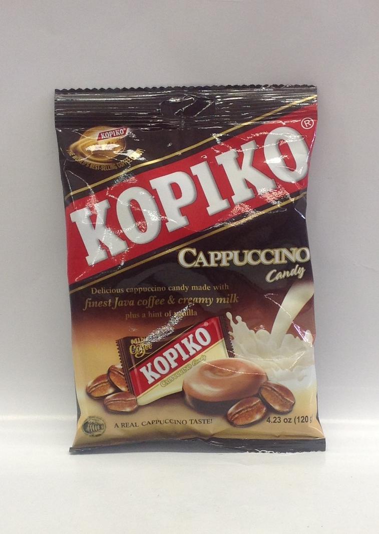 Coffee Candy, Cappuccino   Kopiko   CN11306 24x4.23 oz