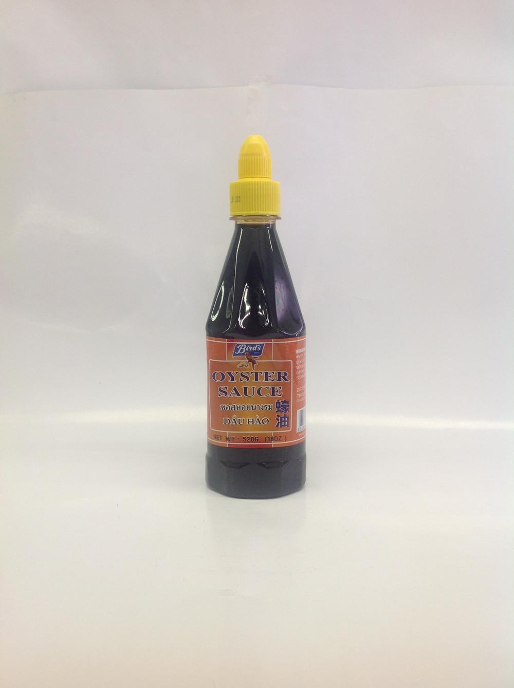 Oyster Sauce   Bird's   SA15321 12x18 oz  SA15322 12x31 oz
