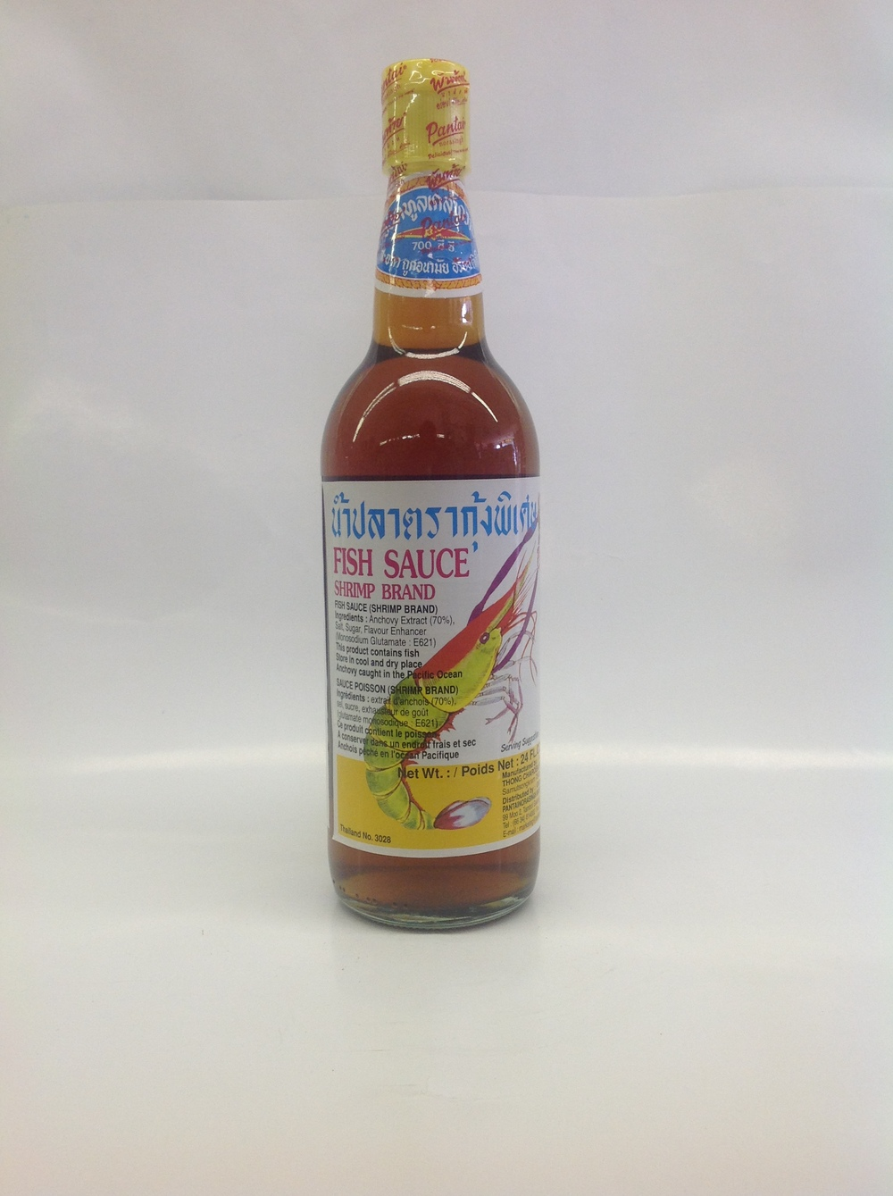 Fish Sauce (Shrimp Brand)   Pantai   FS16110 12x24 oz
