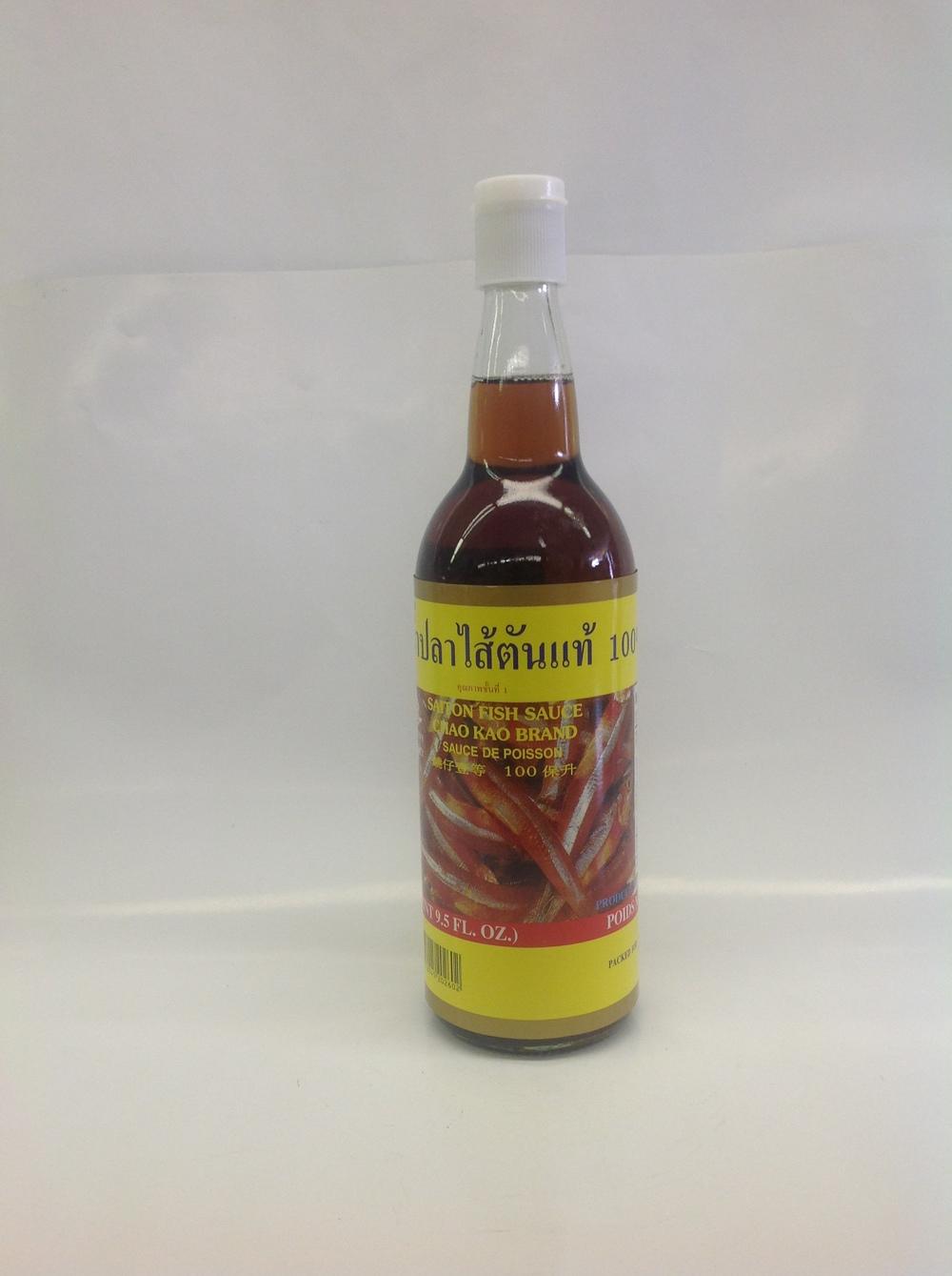 Fish Sauce (Saiton)   Chaokoh   FS11303 12x25.5 oz