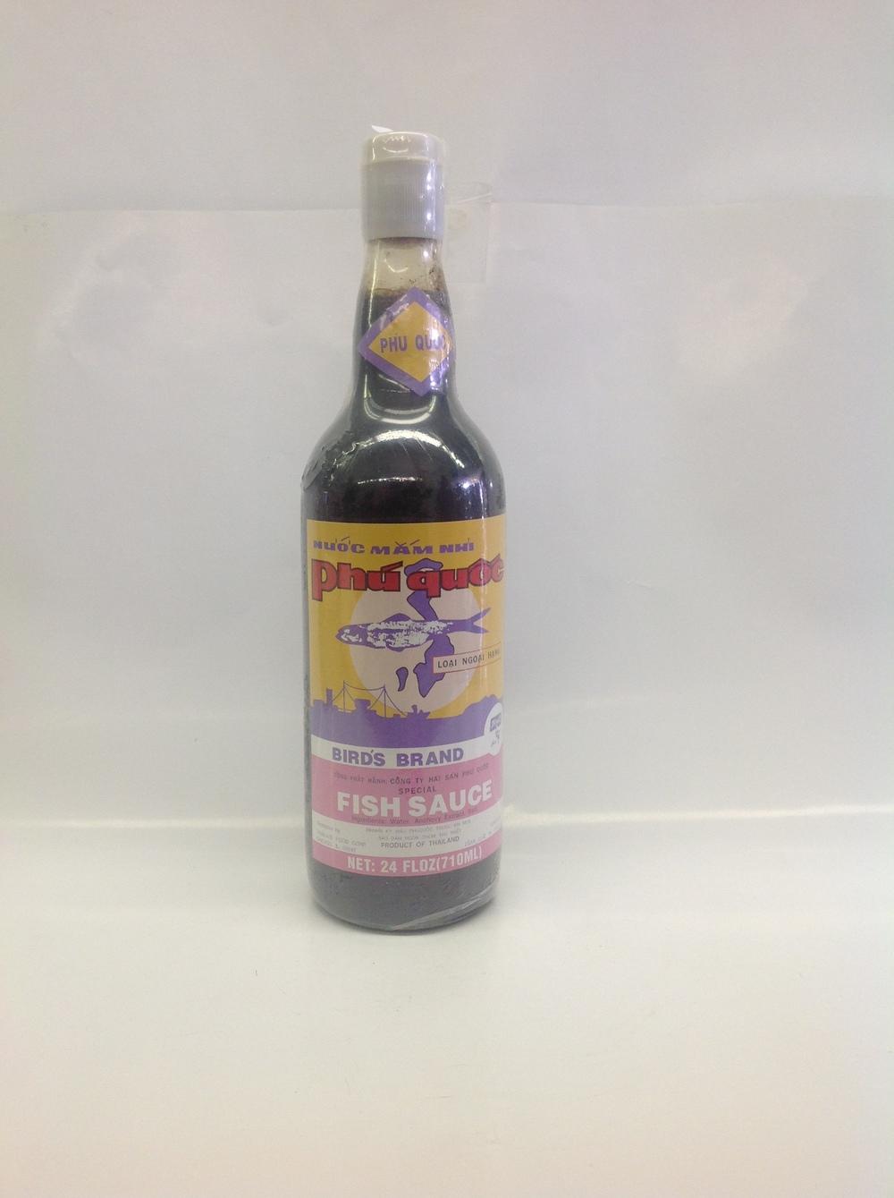 Fish Sauce (Phu Quoc)   Bird's   FS11200 12x24 oz