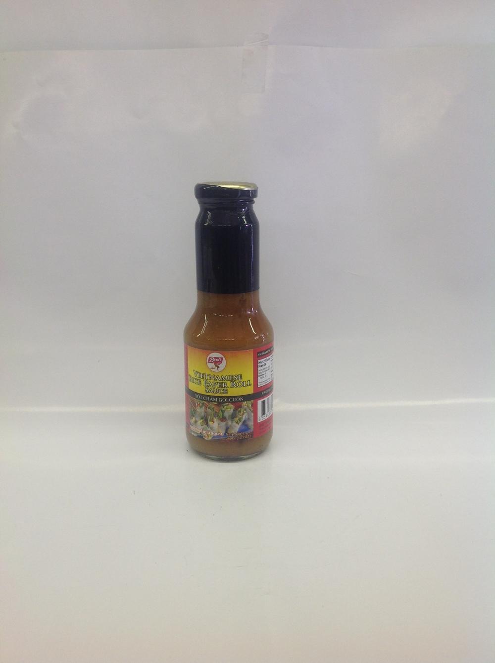 Vietnamese Rice Paper Roll Sauce   Bird's   SC16300 24x12 oz