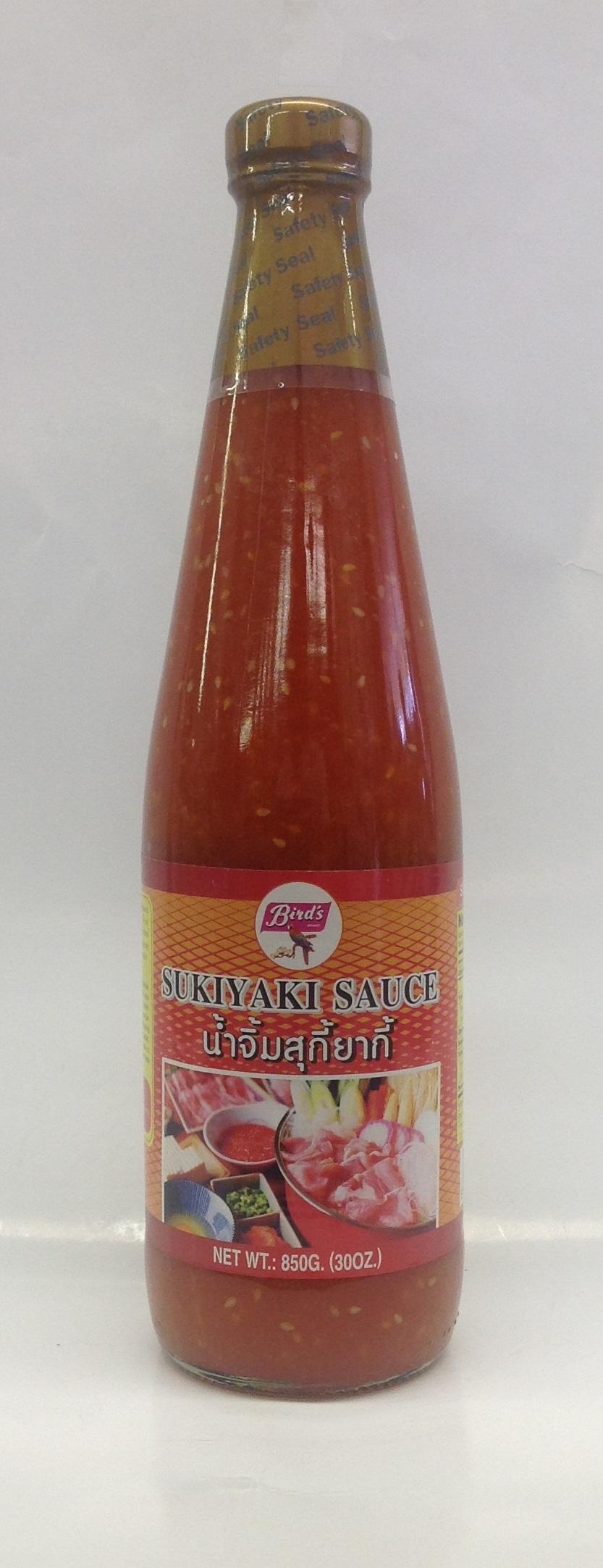 Sukiyaki Sauce   Bird's   SA17181 12x24 oz
